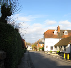 The Queens, seen from the southeast. (157)