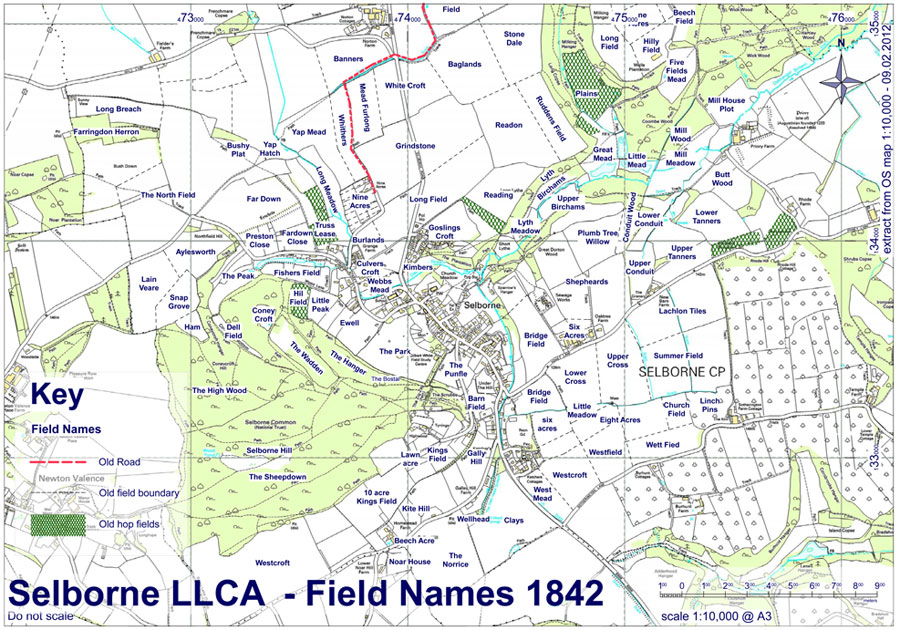 LLCA Field Names 1842
